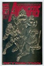 Marvel Comics The Avengers (1963) #366 FN/VF 30th Anniv Gold Foil Deadpool App