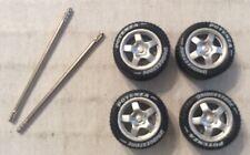 Hot Wheels MatchBox Bridgestone Potenza Real Riders Rubber Tires w/ Axles