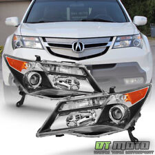 [Hid Model] 2007-2009 Acura Mdx Headlights without Adaptive Headlamps Left+Right (Fits: Acura)