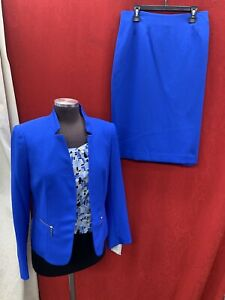 """KASPER SKIRT SUIT /NEW WITH TAG/SIZE 18/RETAIL$280/LINED/SKIRT LENGTH 25""""/"""