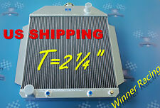 "T=2¼"" ALUMINUM RADIATOR FORD CAR w/302 5L V8 ENGINE A/T 1949-1953 1950 1951 1952"