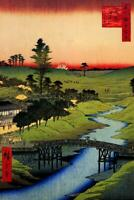 Utagawa Hiroshige Furukawa River In Hiroo Art Print Poster 24x36 inch