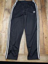 Vintage Adidas 90s Tear Away Black Pants Mens Xl Trefoil Og Basketball Athletic