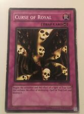 Curse of Royal DB2-EN241 YuGiOh worn