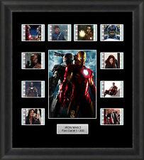 Iron Man 2 Framed 35mm Film Cell Memorabilia Filmcells Movie Cell Presentation