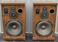 Vintage Sherwood S-1860 3-way liquid cooled speakers - Working Condition!