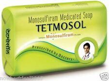 4x TETMOSOL Soap Monosulfiram Medicated skin infection Eczema Itch TFM 75% 100g