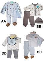 *NWT- CARTER'S - BABY BOY'S 3-PC LS OUTFIT SET - SIZES: NB - 3-6M