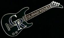 Colorado Rockies Guitar Pin ~ MLB ~ Baseball