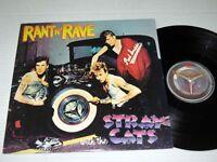 STRAY CATS Rant 'N' Rave EMI NM/NM-