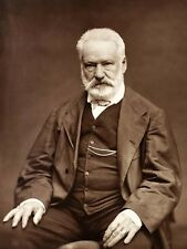 VINTAGE PHOTO VICTOR HUGO PORTRAIT LARGE WALL ART PRINT POSTER PICTURE LF2362