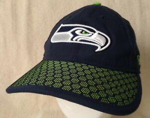SEATTLE SEAHAWKS Women's Hat Ball Cap New Era 9TWENTY Adjustable