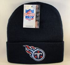 Tennessee Titans NFL Vintage Cuffed Knit Hat Navy Twins Enterprise