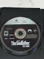 The Godfather: The Game Microsoft Xbox 360 Disc Only Clean Rare Mafia