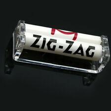 80mm Easy Handroll Cigarette Tobacco Rolling Machine Roller Maker Plastic Top