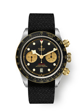 NEW 2020 5yr Gnte Tudor Black Bay Chrono S&G Steel and Gold Chronograph In-house