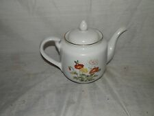 Vintage, Japan,Takahashi San Francisco, Multi Color Flowered, Covered, Teapot