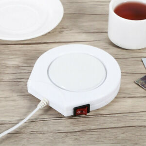Electric Coffee Mug Heater Pad Warmer Milk Tea Cup Heating Plate For Home Office