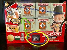 16 Boxes Monopoly Surprise 1st Series Collectible Tokens BRAND