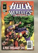 Incredible Hulk Hercules Unleashed #1-1996 vf Marvel / Newsstand Variant Giant