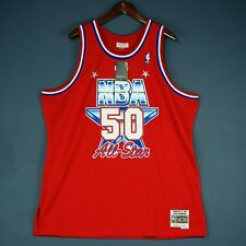 100% Authentic David Robinson Mitchell Ness All Star Swingman Jersey Size 2XL 52