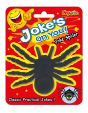 Joke's On You! Large Spider - Classic Practical Joke Novelty Party Trick Prank
