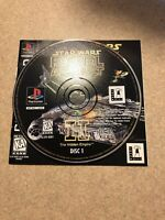 Star Wars: Rebel Assault II 2 (PlayStation 1 PS1) Without Case With Manual