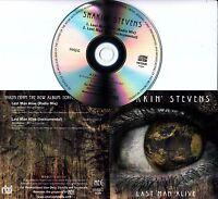 SHAKIN' STEVENS Last Man Alive 2016 UK 2-track promo CD