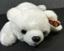 Ty Beanie Buddies Chilly the Polar Bear 1998 New with Tags, Pe Pellets Retired