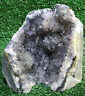 "5.5"" Rare Grey Amethyst Cluster Geode Cluster Crystal Quartz Natural Stone"