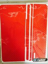 Logitech Ultrathin Keyboard Icarbons Red Carbon Fibre Skin