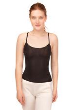 CALVIN KLEIN UNDERWEAR Camisole Size S Partly Lined See Through Logo Print
