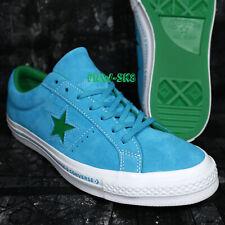 CONVERSE ONE STAR OX HAWAIIAN OCEAN JOLLY GREEN MEN'S SKATE SHOES L96177.154