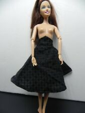 Vintage Doll Clothes Black Skirt With Netting 1959 Will fit Barbie Usa Seller