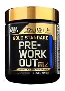 Optimum Nutrition - Gold Standard Pre-Workout - Blueberry Lemonade Flavour (3...