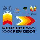 PEUGEOT Cuadro de Bicicleta Adhesivos - Pegatinas - Transfers - N.8