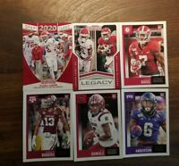 Ceedee Lamb Dallas Cowboys Rookie Card Lot Panini Score Contenders Trevon Diggs