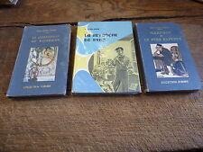 3 livres de Lily jean-Javal : la revanche de sybil - la quenouille du bonheur