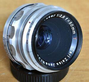 Zeiss Jena  Tessar 50mm f2.8 M42 Lens