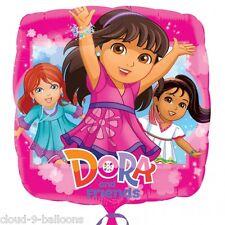 """Dora the Explorer & Friends 17"""" (43 cm) Foil Ballon Fête D'Anniversaire Décoration"""