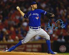 Toronto Blue Jays Marco Estrada Signed MLB Baseball 8x10 Photo Autograph Picture