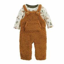 Mud Pie Baby Boy Forest Friends Overalls Set  Size 9-12 Months NEW