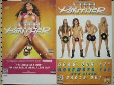 STEEL PANTHER 2011 balls out promotional poster & sticker Flawless New Old Stock
