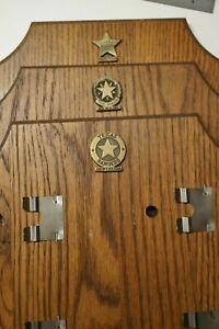 ADM Buckle Display Board-Collectors,Texas Rangers, New Era, Pioneer, Frontier