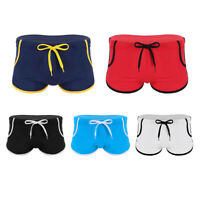 Men Swim Surf Beach Panties Brief Drawstring Swimwear Underwear Shorts Quick Dry