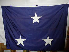 flag808 Us Navy 3 Star Vice Admiral flag Abbot Flag Co 67 x 48