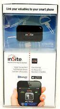 InSite Bluetooth Smart Proximity Alarm Tag Keychain GPS Tracker key Phone wallet