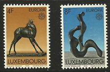 Luxembourg Scott #546-47, Singles 1974 Complete Set FVF MNH