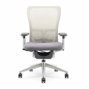 Haworth Zody Chair (Renewed) | Grey