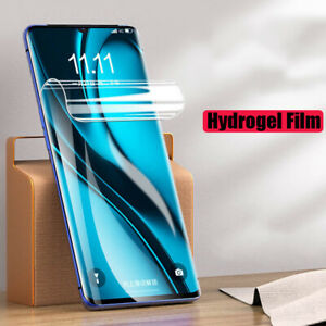 For Samsung Galaxy S21+ S20+ Note 20 A51 Full Cover Soft Hydrogel Screen Protect